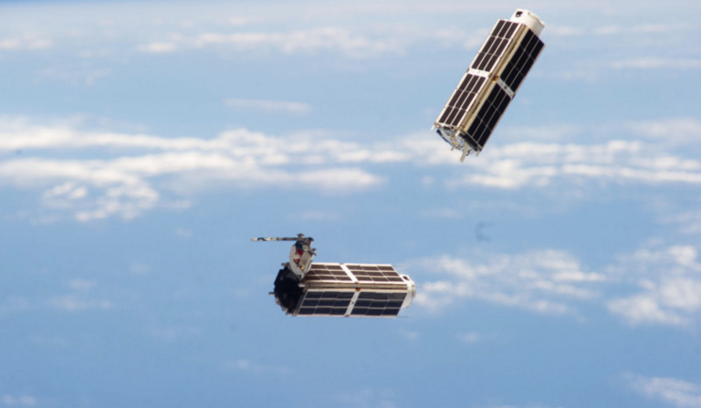 Two Cubesats After Launch From The International Space Station's Small Satellite Orbital Deployer. Credit: NASA - See More At: Http://spacenews.com/are-cubesats-a-nuisance-to-space-situational-awareness-efforts/#sthash.Jh3vxx4g.dpuf