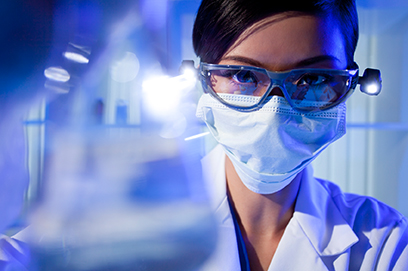Image Of Biomedical Researcher