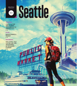 Delta Sky Magazine profiled Seattle's businesses and community in their January 2017 edition.